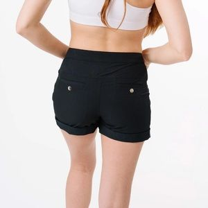 ZYIA Athletic Not Just A Trail Shorts Black Size XXXL